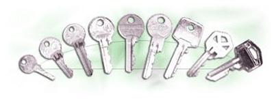 vložkové klíče, výroba klíčů